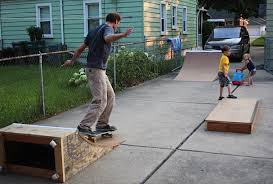 Backyard Skateboard Ramps Quarterpipe Back On Board