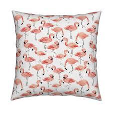 Flamingo Home Decor Flamingo Party Large Wyandotte Duvet Cover By Shelbyallison