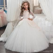 wedding dresses for little girls 2017 pentelei cheap with short