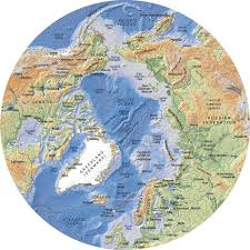 Us Map Topography Arctic Topographic Map With Bathymetry