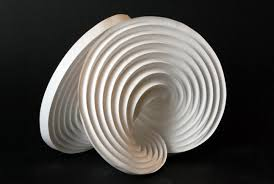 paper engineering concentric circles curved folding