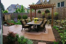 backyard ideas for small yards no grass on a budget garden