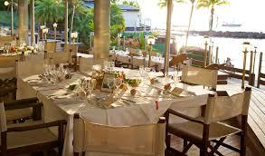 restaurant mariage réception et mariage martinique hotel bakoua les trois îlets