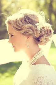 1920 bridal hair styles easy breezy beautiful bridal updos