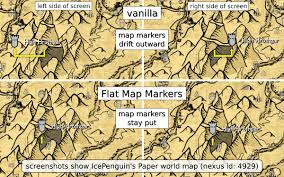 Map Marker Flat Map Markers Fixed Marker Positions On 2d World Maps At