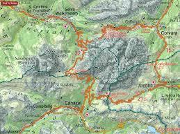 Map Of Venice Dolomites U2013 Lake Garda U2013 Verona Venice 200k Tabacco Road