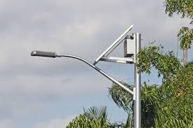 Solar Led Street Lighting by An Led Solar Street Light Provides Better Visibility