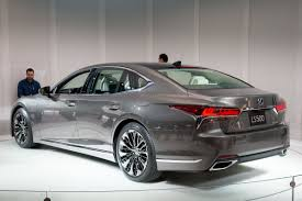 first lexus model 2018 lexus ls 500 review first impressions and photo gallery