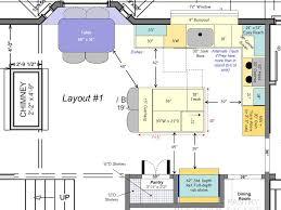 kitchen island spacing 12 x 20 kitchen layouts clearance for kitchen flow kitchen