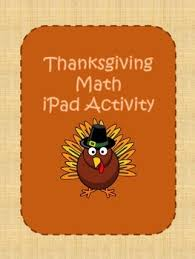 thanksgiving webquest math activity by math galore and more