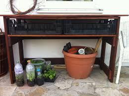 Arbeitstisch Ecke Traumgarten Gartenträume Arbeitstisch Für Die Terrasse