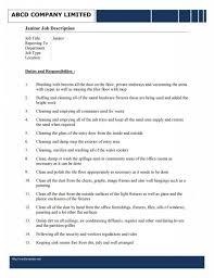 janitor resume objective custodian resume skills
