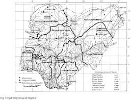 Hydrology Map Impact Of Human Activities On Biodiversity In Nigerian Aquatic