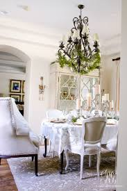 Gold Dining Room Elegant White And Gold Christmas Dining Room And Table Scape