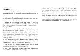 inform letter non fiction writing revision guide inform letter