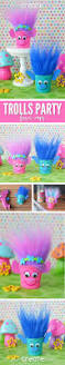 easy to make trolls party crafts troll party reuse and favors