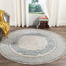 light blue round area rug rug sof365a sofia area rugs by room decor traditional and