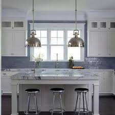 Blue Kitchen Countertops by Thick Marble Kitchen Countertops Design Ideas