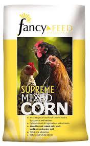 fancy feed supreme mixed corn 20kg