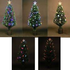 pre lighted christmas trees ebay