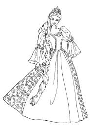 princess coloring pages 1 colouring pages dolls