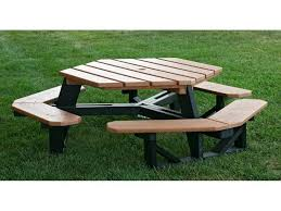 Octagonal Picnic Table Project by Wood Octagon Picnic Table The Advantageous Octagon Picnic Table