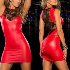 Leather And Lace Clothing Online Get Cheap Lace Leather Dress Aliexpress Com Alibaba Group