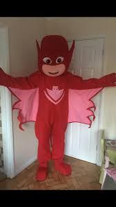 pj masks owlette event mascots costume hire