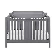 dorel morgan 2 in 1 convertible crib gray