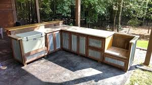 Rustic Outdoor Kitchen Ideas Rustic Outdoor Kitchen Outdoor Rustic Cooking Station And Bar