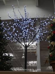 outdoor lighted cherry blossom tree led blossom tree