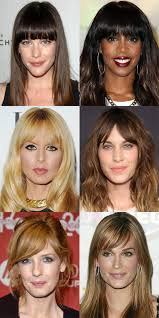 hair stlyes with side parting oval face small forehead the best and worst bangs for long face shapes long face shapes