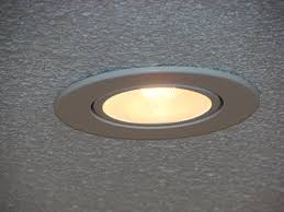 ceiling lights knockout recessed can lights sloped ceiling