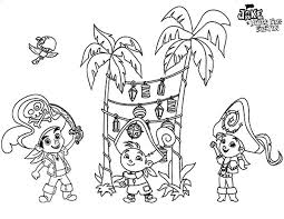 jake neverland pirates party beach colouring