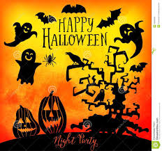 pics of happy halloween vector happy halloween greeting card doodles element for