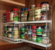 pull out spice racks for upper kitchen cabinets in cabinet rack
