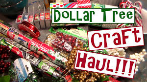 dollar tree christmas craft supply haul 2015 youtube