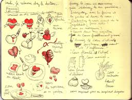 dessin recette de cuisine receipe la cuisine du coeur les lumieres du matin de newt
