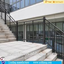 Railing Banister Outdoor Stair Railing Banister Handrails For Outdoor Steps
