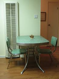 Best Vintage And New Chrome Kitchen Tables And Chairs Images - Kitchen table retro