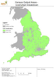 maps of rural areas in england census 2001 gov uk