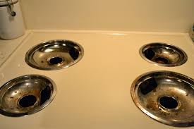 Household Brass Cleaner Clean Your Stove Drip Pans The Polka Dotted Turtle