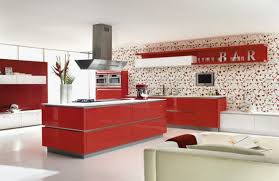 dramatic colorful kitchen design ideas