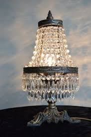 Chandalier Table Lamp Clear Crystal Tiepolo Table Lamp Incredible Delights Pinterest
