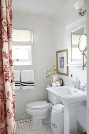 catchy bathroom vintage styling in small apartment space inspiring