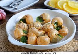 cuisiner les escargots de bourgogne cuisine escargots de bourgogne snails stock photo 716804542