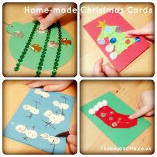 home made christmas cards sequin cards christmas cards and scissors