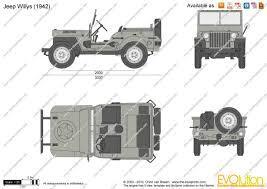 jeep vector the blueprints com vector drawing jeep willys