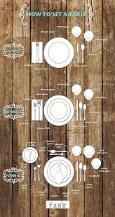 Dining Room Table Best 25 Table Settings Ideas On Pinterest Table Place Settings