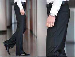 business suit pants spring and summer slim fit suit trousers